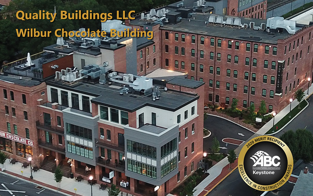 Pre-Fab Framing Accelerated the Restoration of the Wilbur Chocolate Factory